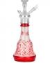 Váza pro vodní dýmky Aladin Persia 26cm (červená)