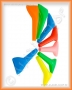 Náustek zasouvací (barevný)
