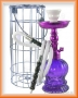Vodní dýmka KING Petete (fialová) v klícce