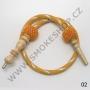 Hadice (šlauch) pro malé vodní dýmky - Top Mark -ST (žlutá)