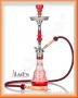 Vodní dýmka Aladin Evolution PERSIA 64cm červená