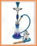 Vodní dýmka Aladin 25/1 36 Fire modrá
