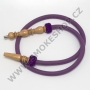 Hadice (šlauch) pro malé vodní dýmky - 125 fialová