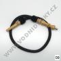 Hadice (šlauch) pro malé vodní dýmky - Top Mark (černá)