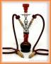 Vodní dýmka Aladin 20/2 54 červená (2 šlauchy)