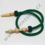 Hadice (šlauch) pro malé vodní dýmky - 125 zelená