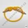 Hadice (šlauch) pro malé vodní dýmky - Top Mark (žlutá)