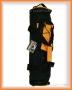 Polstrovaný vak pro vodní dýmky (malý) - černo/oranžový