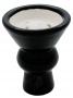 Korunka pro vodní dýmky Aladin 09 černá (vypouklá)