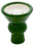 Korunka pro vodní dýmky Aladin 07 zelená (vypouklá)