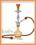 Vodní dýmka Aladin Evolution ARABICA 51cm oranžová