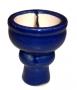 Korunka pro vodní dýmky Aladin 06 modrá (půlená)