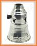 Tarbuš pro střední a velké vodní dýmky ALADIN (stříbrná)