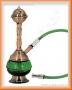 Vodní dýmka Měděnka 18cm (zelená)