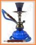 Vodní dýmka Pumpkin Razor-HB v kufru (modrá-černé tělo)