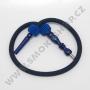 Hadice (šlauch) pro malé vodní dýmky - Top Mark (modrá)