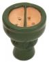 Korunka pro vodní dýmky Aladin 07 zelená (půlená)