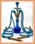 Vodní dýmka Aladin 22/4 46 modrá (4 šlauchy)