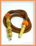 Hadice (šlauch) pro malé vodní dýmky - 125 oranžová