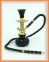 Vodní dýmka Shisha (černo/zlatá)