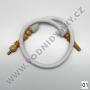 Hadice (šlauch) pro malé vodní dýmky - Top Mark (bílá)
