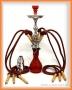 Vodní dýmka Aladin Diwan 72cm/6 červená