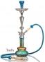 Vodní dýmka Aladin Evolution Loop 70cm tyrkysovo - zlatá