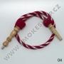 Hadice (šlauch) pro malé vodní dýmky - Top Mark -ST (červená)
