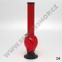 Bong acrylic alien 40cm (červený)