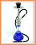Vodní dýmka Shisha (modrá broušená)