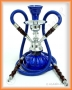 Vodní dýmka ''Pumpkin 2 šlauchy'' (modrá)