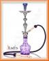 Vodní dýmka Aladin Evolution AMIRA 67cm fialová