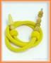 Hadice (šlauch) pro malé vodní dýmky - 125 žlutá