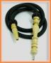 Hadice (šlauch) pro velké vodní dýmky - 145 černá