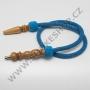 Hadice (šlauch) pro malé vodní dýmky - 125 tyrkysová