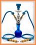Vodní dýmka Aladin 20/2 56 modrá (2 šlauchy)