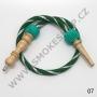 Hadice (šlauch) pro malé vodní dýmky - Top Mark -ST (zelená)