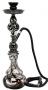 Vodní dýmka Shisha (černá kouřová) 48cm