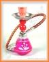 Vodní dýmka - Mini 17cm (růžová)
