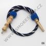 Hadice (šlauch) pro malé vodní dýmky - Top Mark -ST (modrá)