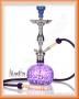 Vodní dýmka Aladin Evolution KOUFY 56cm fialová