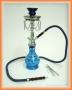 Vodní dýmka Shisha (modrá s řetízky)