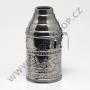 Tarbuš pro malé vodní dýmky HAKIM (stříbrná)