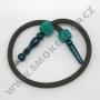 Hadice (šlauch) pro malé vodní dýmky - Top Mark (zelená)