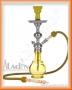 Vodní dýmka Aladin Evolution Tummy 46cm žlutá