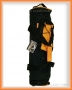 Polstrovaný vak pro vodní dýmky (velký) - černo/oranžový