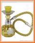 Vodní dýmka - Mini 15cm (žlutá)
