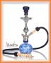 Vodní dýmka Aladin Evolution KOUFY 43cm modrá