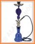 Vodní dýmka - Kobra 66cm (modrá)