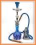 Vodní dýmka Aladin 23/1 06 modrá 2008 (žíhaná)
